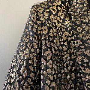 NBD Jackets & Coats - NBD x Revolve Black & Gold Gemma Blazer
